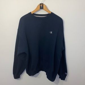 Champion Navy Sweatshirt Men Size XL